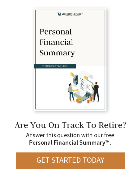 Personal Financial Summary